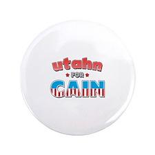 "Utahn for Cain 3.5"" Button"