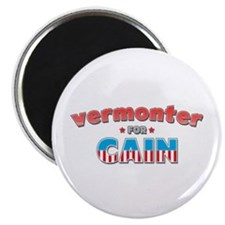 "Vermonter for Cain 2.25"" Magnet (100 pack)"