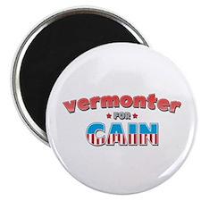 "Vermonter for Cain 2.25"" Magnet (10 pack)"