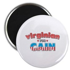 """Virginian for Cain 2.25"""" Magnet (100 pack)"""