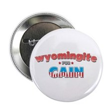 "Wyomingite for Cain 2.25"" Button"