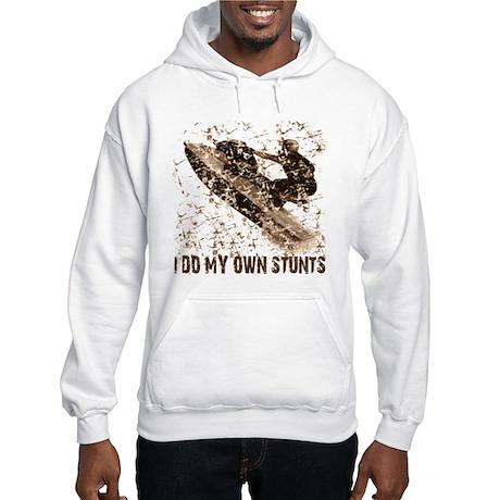 Jet Ski, I Do My Own Stunts Hooded Sweatshirt