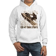 Jet Ski, I Do My Own Stunts Hoodie