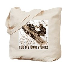 Jet Ski, I Do My Own Stunts Tote Bag