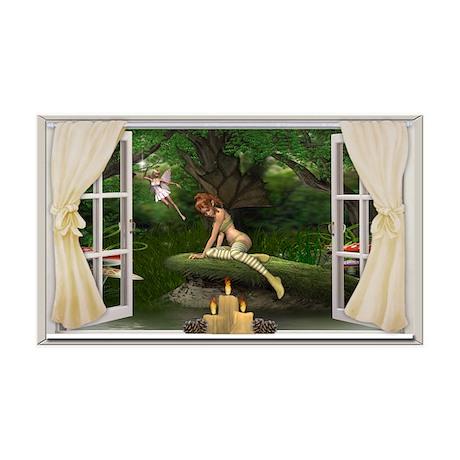 Fairy Window 38.5 x 24.5 Wall Peel