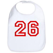 Number 26 Bib