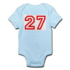 Number 27 Infant Creeper