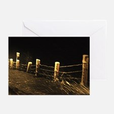 Driving Snow Greeting Cards (Pk of 20)