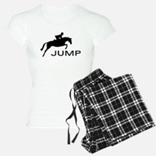 """JUMP"" Hunter Jumper Pajamas"
