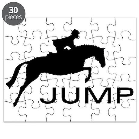 """""""JUMP"""" Hunter Jumper Puzzle"""