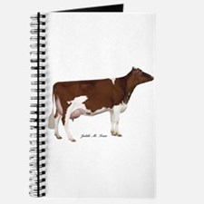 Red and White Holstein cow Journal