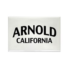 Arnold California Rectangle Magnet