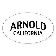 Arnold California Decal
