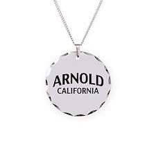 Arnold California Necklace Circle Charm