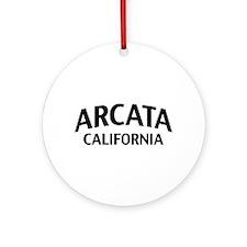 Arcata California Ornament (Round)