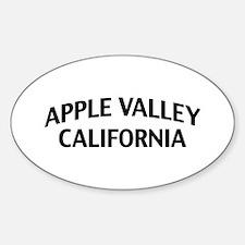 Apple Valley California Sticker (Oval)