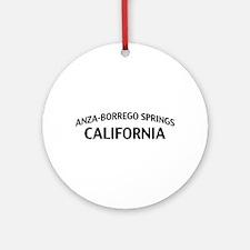 Anza-Borrego Springs California Ornament (Round)