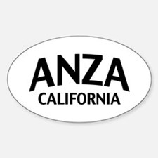 Anza California Decal
