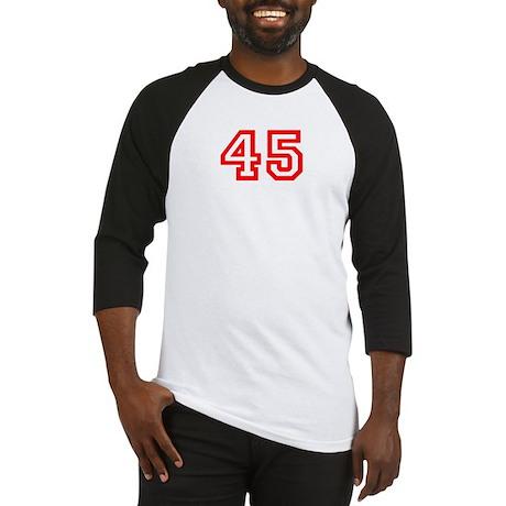 Number 45 Baseball Jersey