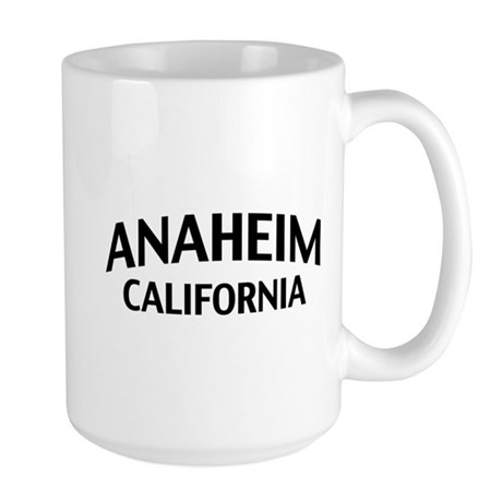Anaheim California Large Mug