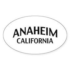 Anaheim California Decal