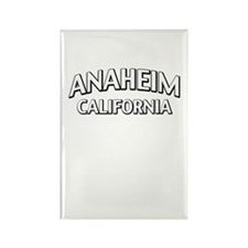 Anaheim California Rectangle Magnet