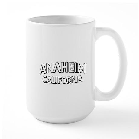 Anaheim California Large Mug