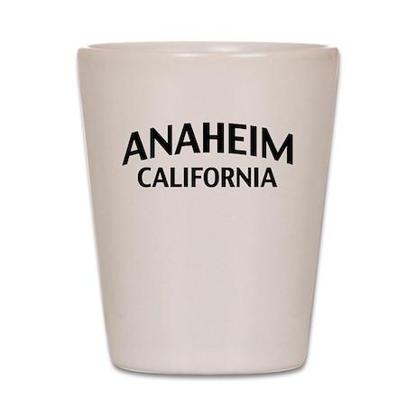 Anaheim California Shot Glass