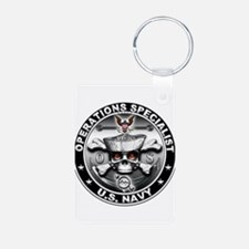 USN Operations Specialist Sku Keychains
