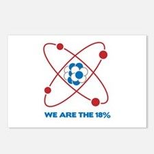 We are the 18 percent! Postcards (Package of 8)