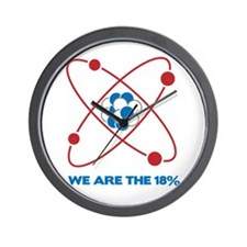 We are the 18 percent! Wall Clock
