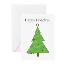 Chemis-Tree Greeting Cards (Pk of 20)