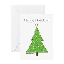 Chemis-Tree Greeting Card