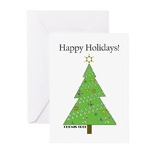 Chemis-Tree Greeting Cards (Pk of 10)