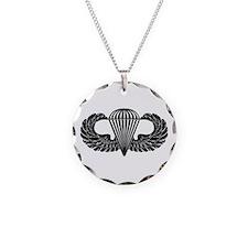 Parachutist -- B-W Necklace