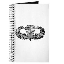 Parachutist -- B-W Journal