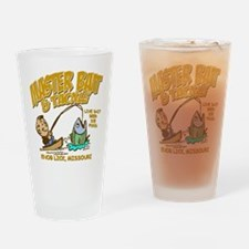 Master Bait Tackle Drinking Glass