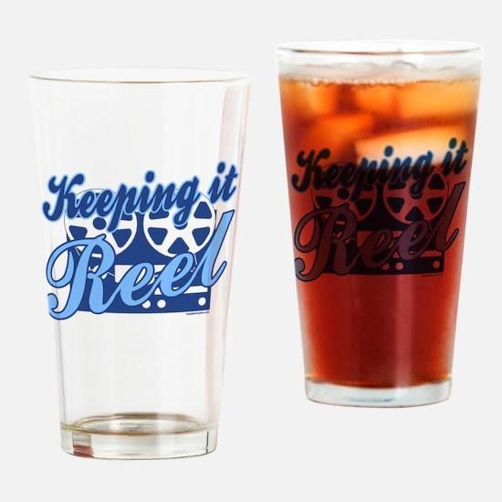 Keeping it Reel Drinking Glass
