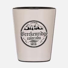 Breckenridge Old Circle Shot Glass