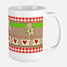 Gingerbread and Hearts Mug