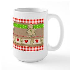 Gingerbread and Hearts Mug