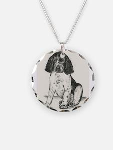 Darcy Baby Springer Spaniel Necklace