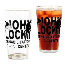 John Locke Rehab Center Drinking Glass