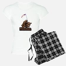 Freedom - WW2 Iwo Jimia Desig Pajamas