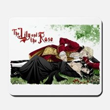 The lily and the rose Mousepad