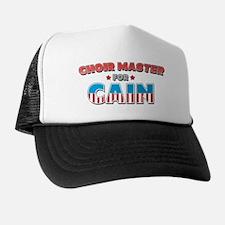 Choir master for Cain Trucker Hat