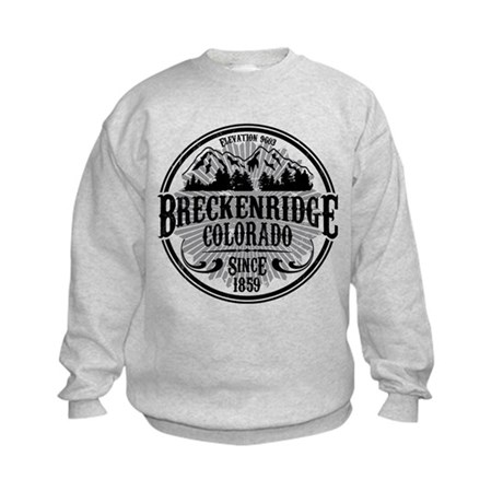 Breckenridge Old Radial Kids Sweatshirt