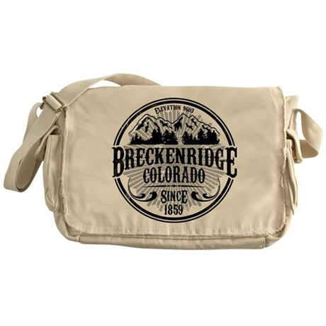 Breckenridge Old Radial Messenger Bag