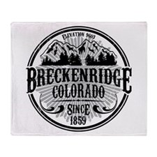 Breckenridge Old Radial Throw Blanket