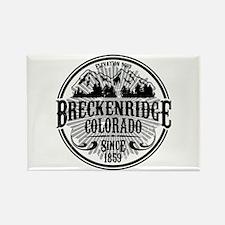 Breckenridge Old Radial Rectangle Magnet